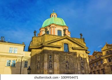 Saint Francis of Assisi church in Prague