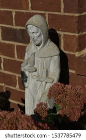 Saint Francis of Assisi, patron saint of animals.