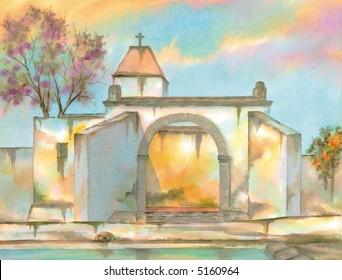 Saint Francis Convent, Tepeapulco, Hidalgo, Mexico