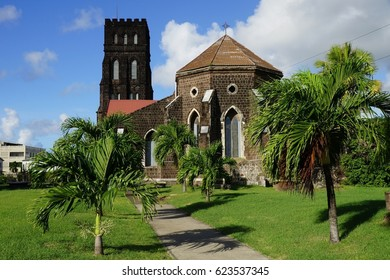 Saint George with Saint Barnabas Anglican Church, St. Kitts Island.