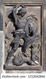 Saint George the fights the dragon