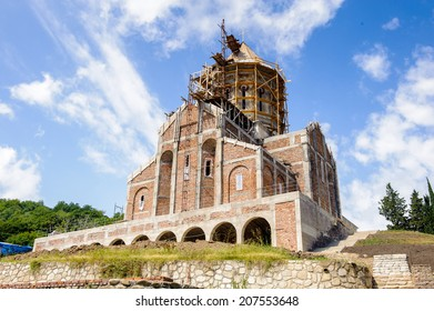 Saint George's church, Orthodox monastery, Bodva, Georgia