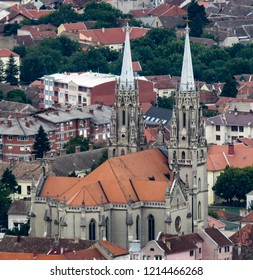 Saint Gerhard Cathedral in the city of Vrsac