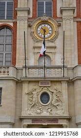 Saint Germain en Laye; France - october 28 2018 : the renaissance castle