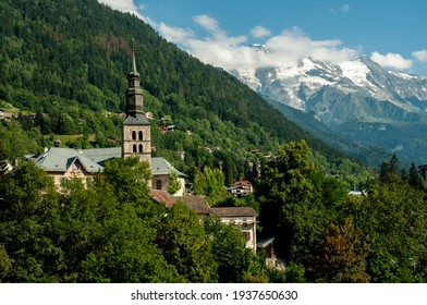 Saint Gervais les Bains in the French Alps.