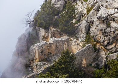 Saint Hilarion Castle in Girne (Kyrenia) North Cyprus