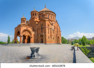 Saint Hovhannes Church Christian church and monastery in the mountains in Armenia. Travel to Armenia in Asia.