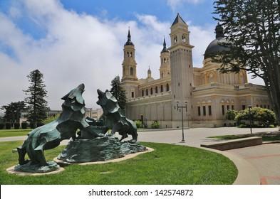 Saint Ignatius Church on the University of San Francisco