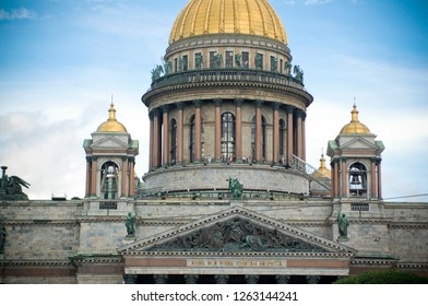 Saint Isaac's Cathedral in St. Petersburg Russia