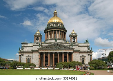 Saint Isaac's Cathedral, St.Petersburg, Russia