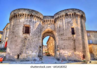Saint Jacques Gate in Cognac - France, Charente