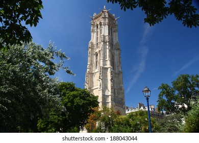 Saint Jacques Tower in Paris