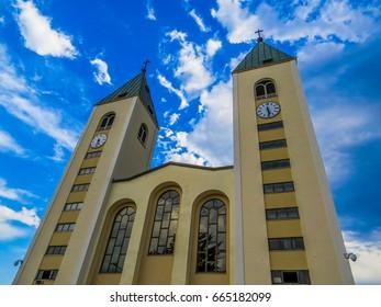 Saint James Church, Medjugorje, Bosnia and Herzegovina