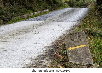 Saint James way in Baztan valley Navarra