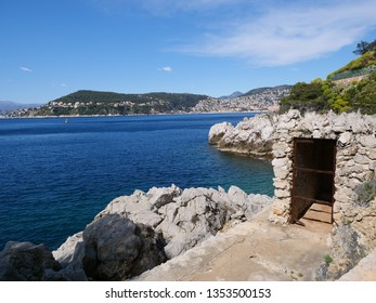 Saint Jean Cap Ferrat Looking towards Ville Franch Ser Mer.
