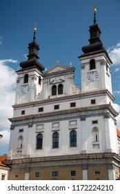 The Saint John the Baptist cathedral in Trnava, Slovakia