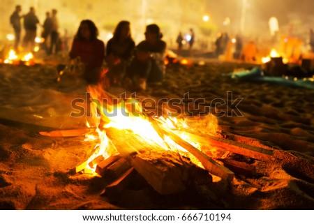 Saint John bonfires in