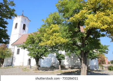 Saint John Roman Catholic Parish church. Szentendre, Hungary. The village of Szentendre is a popular destination for a day tour which can be made from Budapest.