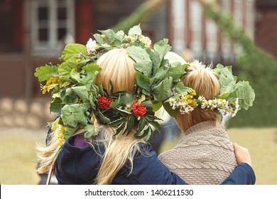 Saint John's or Dew Holiday Festival (Rasos svente, Jonines, Midsummer Day, Saint John's Day) is a midsummer folk festival celebrated on June 24 all around Lithuania (Latvia, Estonia).  Wreaths