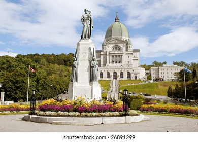 Saint Joseph Oratory construction began in 1904. The original Church was enlarged many times. The actual Basilica construction was terminated in 1967.