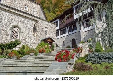 Saint Jovan Bigorski Monastery. Macedonian Orthodox monastery, Macedonia