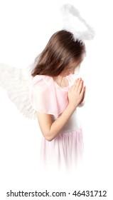 Saint little girl