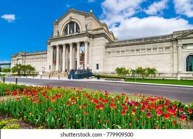 Saint Louis, MO USA - 04/24/2015 - Saint Louis Art Museum