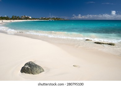 Saint Maarten beach, Caribbean