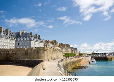 Saint Malo, France.