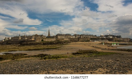 Saint Malo, France - city fortification