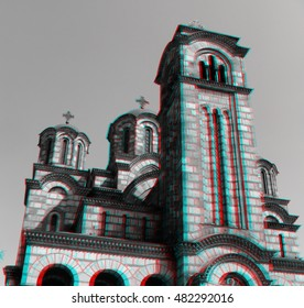 Saint Mark church Belgrade Tasmajdan