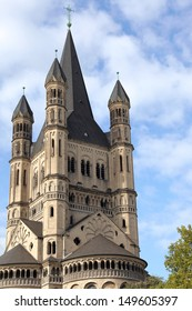 Saint Martin church of Cologne, Germany