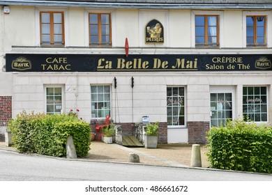 Saint Martin de Boscherville, France - june 22 2016 : the Saint Georges abbey in Seine Maritime