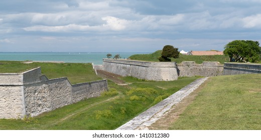 Saint Martin de Re fortification in Re Isle France south west