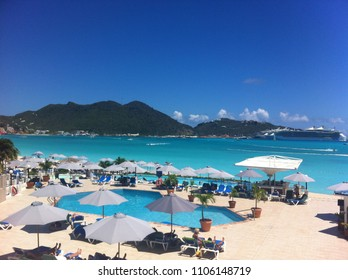 Saint Martin - may 28, 2015. The Friendly Island of Caribbean, Dutch side.