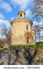 The Saint Martin Rotunda at Vysehrad - Czech Republic