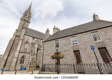 Saint Mary of the Assumption cathedral in the city of Aberdeen, Scotland.