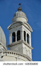Saint Mary of Health beautiful baroque belfry in Venice, designed by architect Longhena in 1631