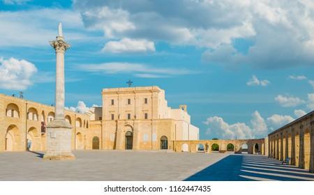 Saint Mary of Leuca Sanctuary, province of Lecce, Apulia (Puglia), Italy.
