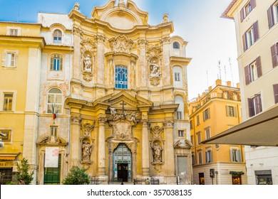 Saint Mary Magdalene Church in Rome
