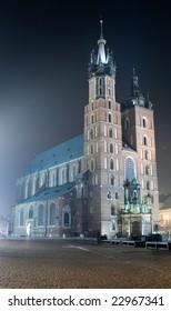 Saint Mary's church in Krakow. Poland
