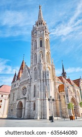 Saint matthias church in the Budapest city centre. Hungary.