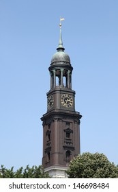 Saint Michaelis church of Hamburg, Germany