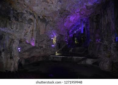Saint Michael's Cave, Gibraltar, Europe