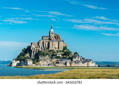 Saint Michael's Mount is an island commune in Normandy. The island has held strategic fortifications since ancient times and has been the seat of a monastery.