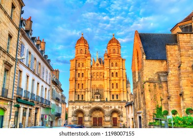 Saint Michel church in Dijon - Cote d'Or, France