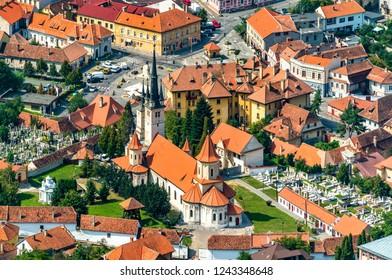 Saint Nicholas Church in the old town of Brasov - Transylvania, Romania