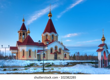 Saint Panteleimon church in Petrozavodsk, Russia