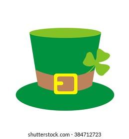 Saint Patricks Hat with Clover