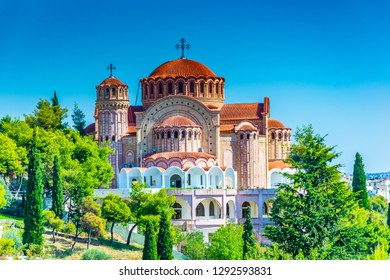 Saint Paul cathedral in Thessaloniki, Greece
